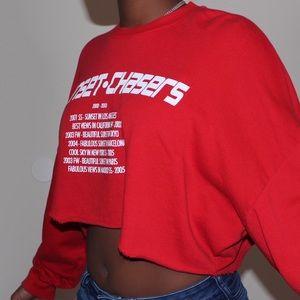 zara crew neck sweatshirt